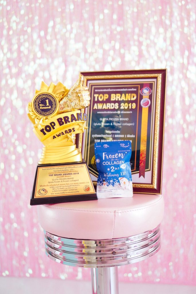 Frozen Collagen Singapore : Top Brands Award 2019 for Beauty