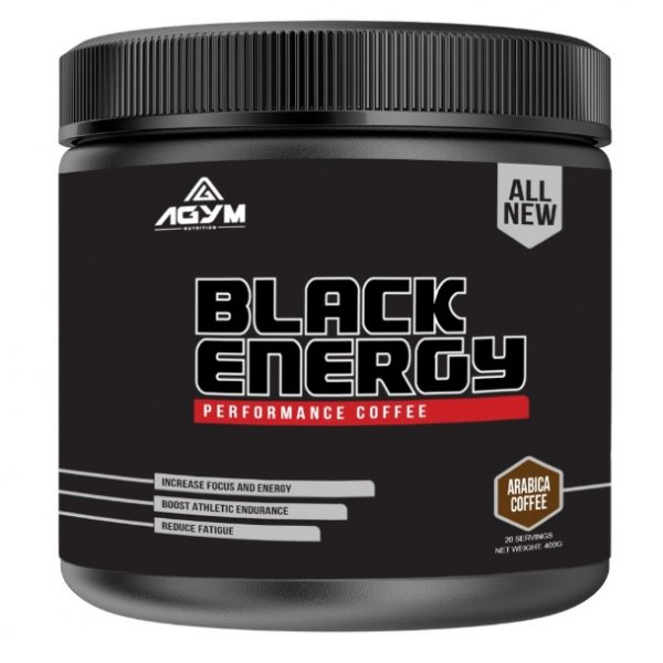 BLACK Energy - Xtreme Coffee | Halal Nutrition Supplements